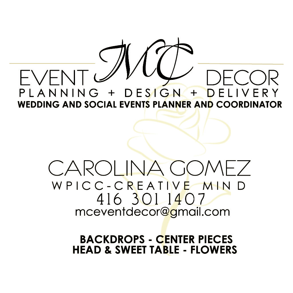MC Event Decor